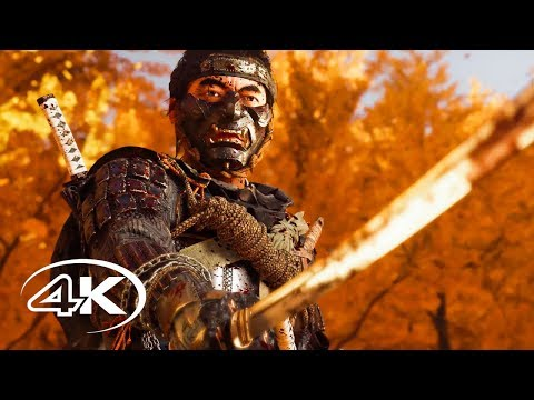 Ghost of Tsushima - Русский 4K трейлер (The Game Awards 2019, Субтитры) | Игра 2020