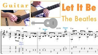 Let It Be / The Beatles (Guitar)