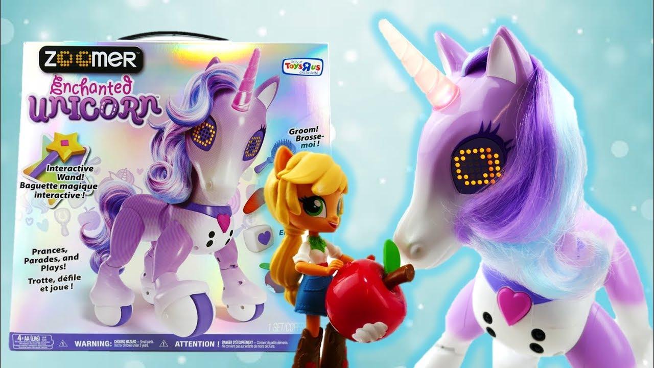 Applejack Trains a Zoomer Enchanted Unicorn for Princess Celestia