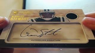 2017 Panini Certified Cuts Football 4 Box Break 10-17-2017 (BLUE BACK AUTO MOJO!!)