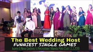 Wedding Host   Juami & Nina Godinez's Garter Tradition & Singles Game