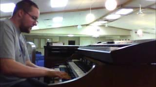 "I Will Trust - Min. David Haynes band rehearsal - Dan ""Spiffy"" Neuman on organ"