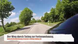 preview picture of video 'Der Weg durch Tating zur Ferienwohnung'