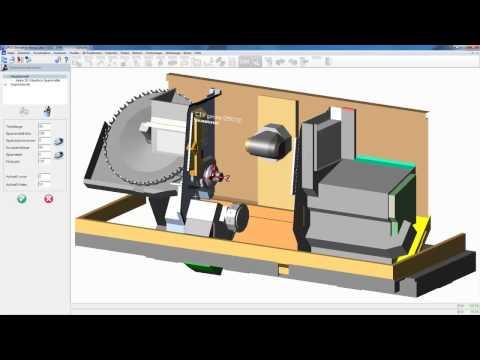 OPUS CAM Software - Rüsten einer CTX GAMMA Drehmaschine