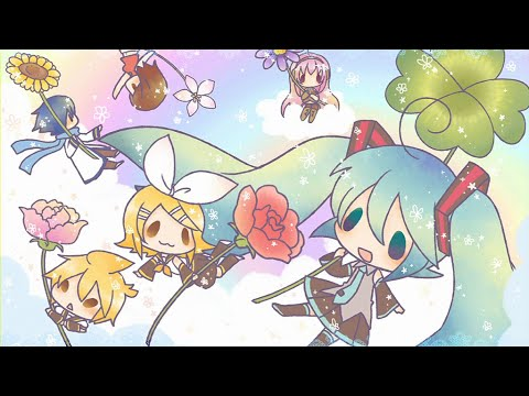 """Hatsune Miku: Project DIVA X - [PV] """"Beginning Medley - Primary Colors"""" (English Subs)"""