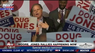 FNN: NYC pipe bomb explosion, Trump allegations and Alabama Senate race rallies