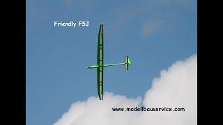 Friendly F5J  - RC Segelflieger - 3,6m - 1,5kg