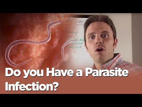 Parasites sa katawan ng isda