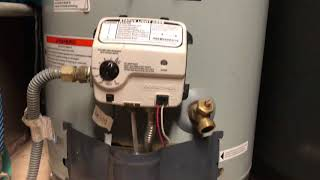 How to light pilot on water heater