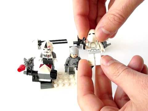 Vidéo LEGO Star Wars 8084 : Snowtrooper Battle Pack