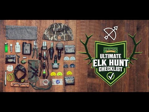 Ultimate Elk Hunt Checklists video thumbnail
