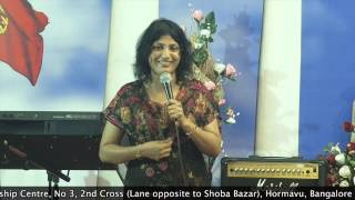 16 - 09 - 2015, Bible Study  On Sanctification Series By Pastor Pramila Jeyaraj