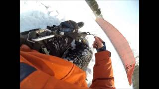 Полет на параплане Новосибирск Иня 2017
