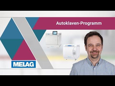 Autoklaven-Programm: Grundlagen, Verwendung, Produktvorteile   MELAG Webinar