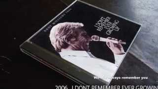 "Andy williams original album collection   .""I'll Never Break Your Heart"""