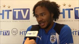 HTTV Izzy Brown on cucumbers the excitement around Huddersfield and Mondays PlayOff