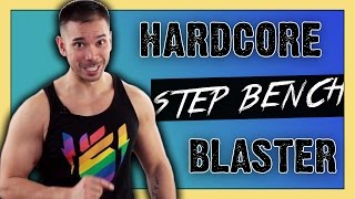 10 Minute Full Body Step Workout :: Plyometrics, Bodyweight & Strength, HIIT Workout for Fat Loss! by Mike Donavanik - MikeDFitness