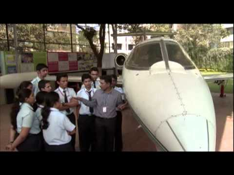 Live Learjet 24 A/C - Thakur Institute of Aviation Technology (TIAT)