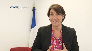 Entrevista a la Excelentísima Embajadora de Francia, Anne Grillo