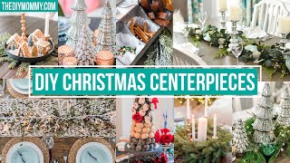 7 DIY CHRISTMAS CENTERPIECE IDEAS