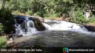 preview picture of video 'Salto La Olla, Aristóbulo del Valle.'