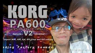 Pecah Seribu Karaoke - Korg Pa600 Nyoba