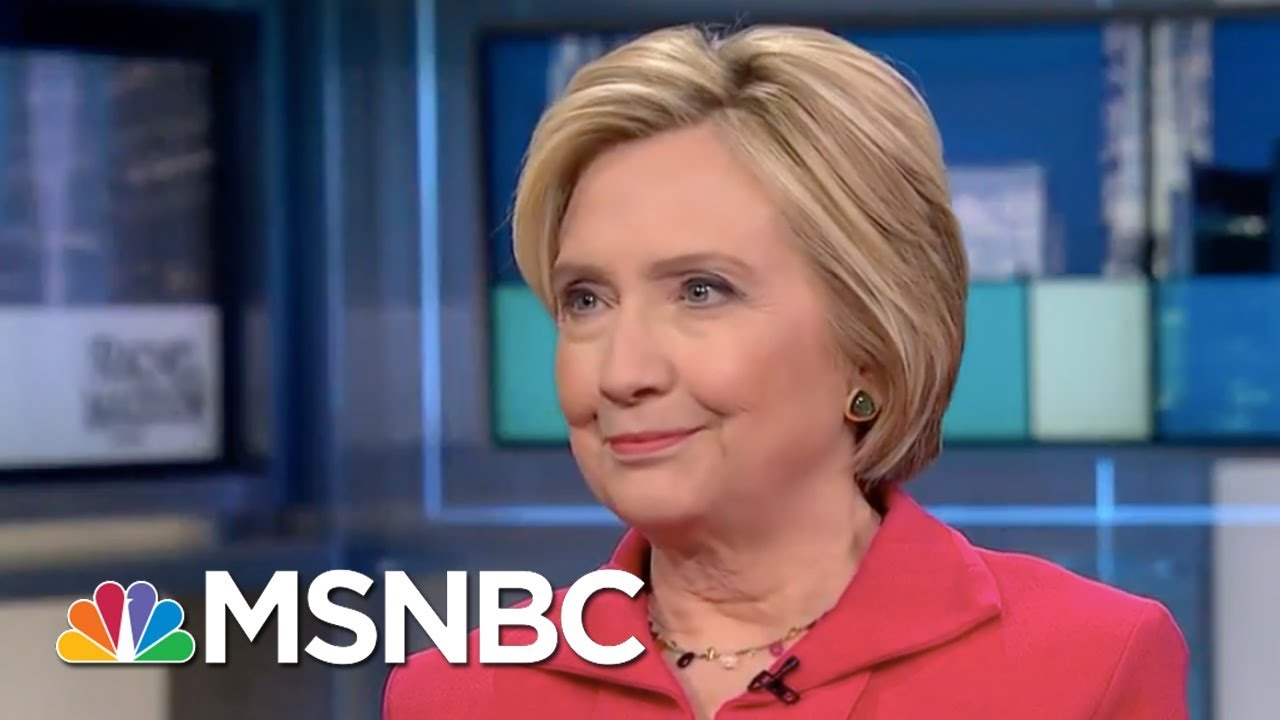 Hillary Clinton to Trump: Get Over The Twitter Stuff, Get With Diplomacy | Rachel Maddow | MSNBC thumbnail
