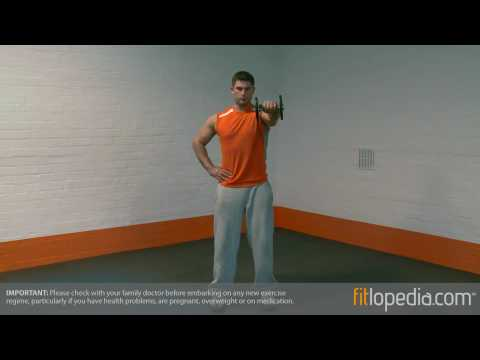 Single Arm Dumbbell Front Raise