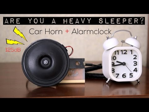 Build An Insanely Loud Alarm To Get Yourself Out Of Bed No Matter What