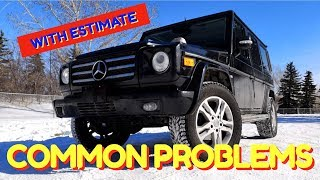 🤞 🇩🇪  Mercedes G WAGON Reliability | G CLASS Most Common Problems Faults | W463 Mercedes Benz | 🚙