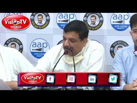 आम आदमी पार्टी के संजय सिंह-राज्यसभा सांसद, मुख्य रूप से दिल्ली क्षेत्र से पार्टी में नए सदस्यों को शामिल करते हैं।