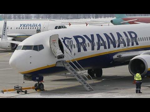 Κινητοποιήσεις από τα πληρώματα καμπίνας της Ryanair