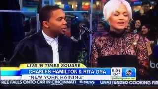 Charles Hamilton & Rita Ora - Good Morning America
