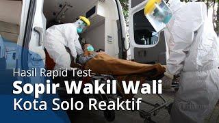 Ratusan ASN Pemkot Solo Jalani Rapit Test, Sopir Pribadi Wakil Wali Kota Solo Achmad Purnomo Reaktif