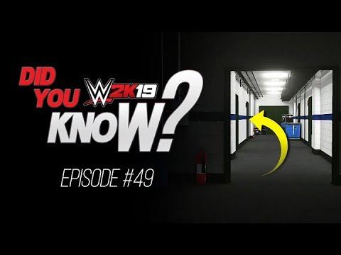 WWE 2K19 Did You Know? Inside Goldberg's Locker Room, Hidden Options & More! (Episode 49)