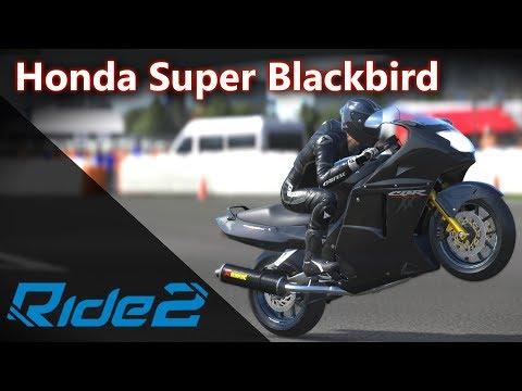 Honda CBR1100XX - Super Blackbird! A presa da Hayabusa! 😲   RIDE 2 [PT-BR]