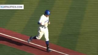 KU Walks Off Against OU in Game 2 // KU Baseball // 4.30.16