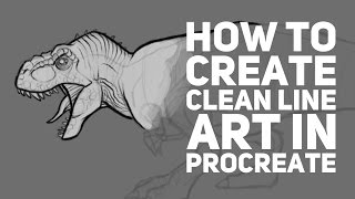How to Create Clean Line Art in Procreate