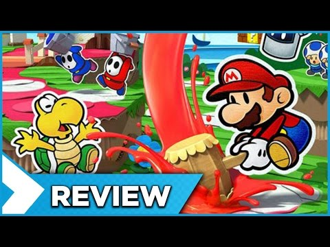 ♦ Paper Mario: Color Splash - Review / Test | Fanmadience