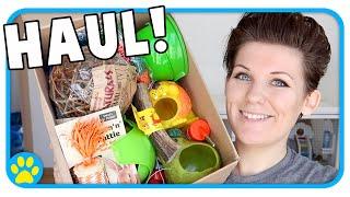 Big Pet Supply Haul! 🐹🐭🐶 Viovet Unboxing