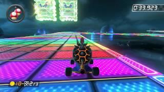 SNES Rainbow Road - 1:24.565 - Diogo (Mario Kart 8 World Record)