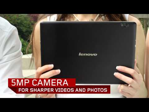 Lenovo IdeaTab S2110 tablet tour
