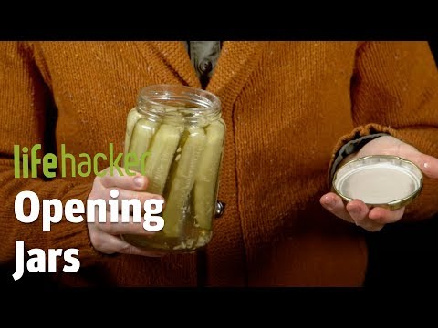 How To Open Stubborn Jars