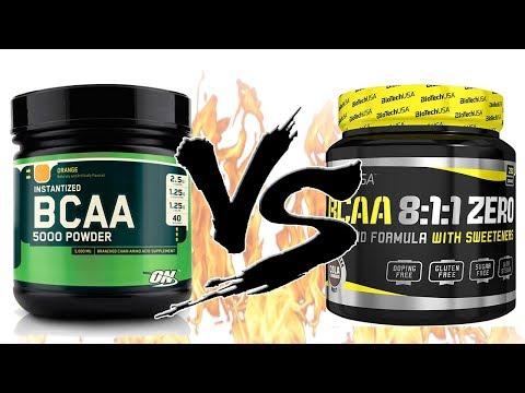 BCAA 2 1 1 или 8 1 1 Какие Лучше Выбрать