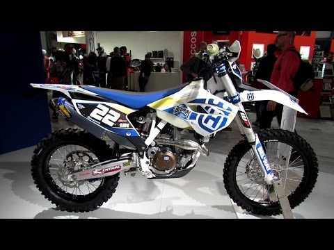 2014 Husqvarna FE 250 Walkaround - 2013 EICMA Milan Motorcycle Exhibition