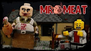 LEGO Mr. Meat Stop Motion / LEGO Animation