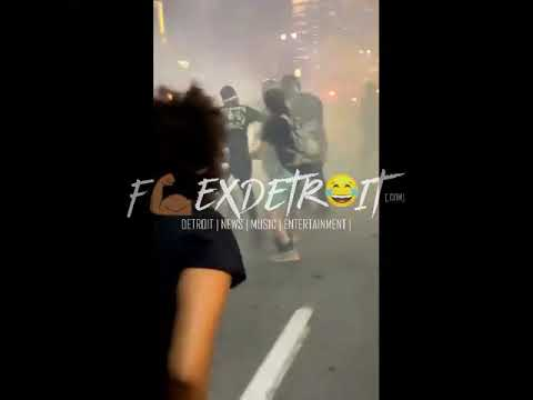 Detroit Police Department Using Excessive Force On Organized Protest?