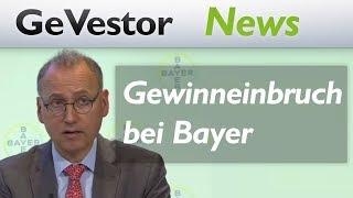 Bayer: Phänomenaler Gewinneinbruch - und doch herrscht Zuversicht