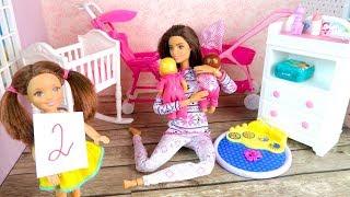ПЕРВАЯ ДВОЙКА ИЗ ЗА ДВОЙНЯШЕК Мультик Куклы #Барби Сериал Про Школу Игрушки Для девочек IkuklaTV