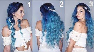 3 Ways To Style Mermaid Hair
